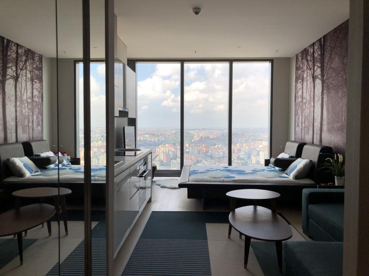 SKYLAND İSTANBUL  RESIDENCE  1 + 0 57 m²